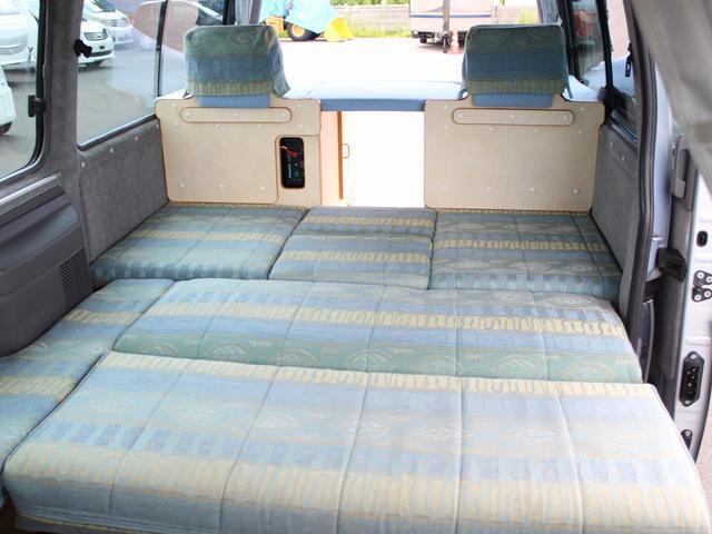 NOX適合 切替4WD FFヒーター 1500Wインバーター ポータブル冷蔵庫 ツインサブ 走行充電 外部電源充電 サイドオーニング シンク 給排水ポリタンク 走行用リアクーラー 走行用リアヒーター(9枚目)