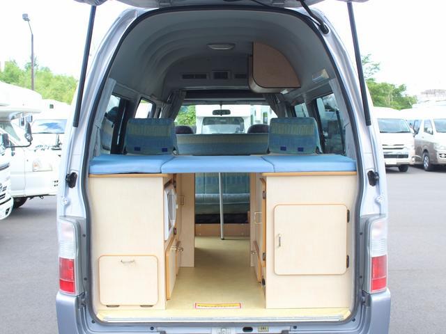 NOX適合 切替4WD FFヒーター 1500Wインバーター ポータブル冷蔵庫 ツインサブ 走行充電 外部電源充電 サイドオーニング シンク 給排水ポリタンク 走行用リアクーラー 走行用リアヒーター(11枚目)