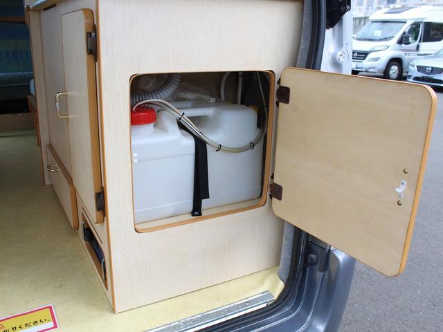 NOX適合 切替4WD FFヒーター 1500Wインバーター ポータブル冷蔵庫 ツインサブ 走行充電 外部電源充電 サイドオーニング シンク 給排水ポリタンク 走行用リアクーラー 走行用リアヒーター(21枚目)