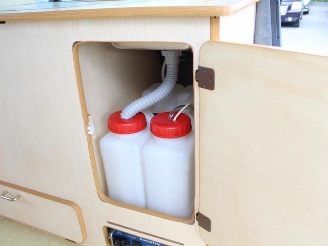 NOX適合 切替4WD FFヒーター 1500Wインバーター ポータブル冷蔵庫 ツインサブ 走行充電 外部電源充電 サイドオーニング シンク 給排水ポリタンク 走行用リアクーラー 走行用リアヒーター(22枚目)