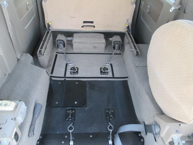 車いす移動車 4WD スロープ Rヒーター 寒冷地仕様(17枚目)