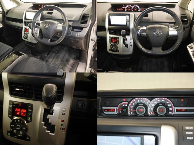 ZS CD フルセグ エアロ バックカメラ HDDナビ HIDライト 4WD スマートキー ETC ナビTV アルミ パワスラドア 盗難防止システム 3列シート DVD(4枚目)