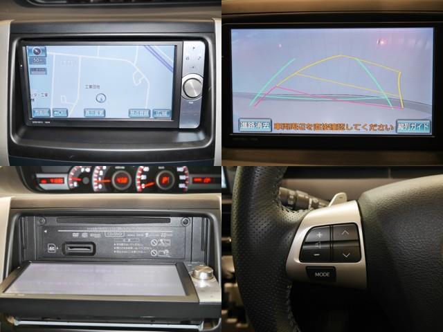 ZS CD フルセグ エアロ バックカメラ HDDナビ HIDライト 4WD スマートキー ETC ナビTV アルミ パワスラドア 盗難防止システム 3列シート DVD(9枚目)