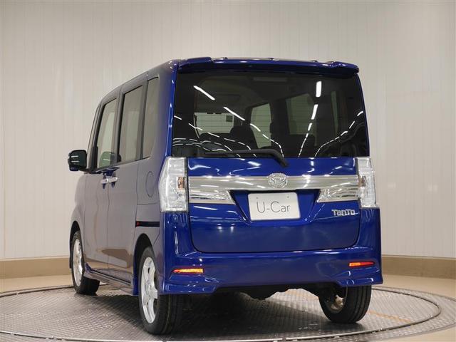 カスタムRS ABS スマートキー 4WD 両側パワースライドドア フルセグ メモリーナビ ナビTV CD キーフリー LED(3枚目)