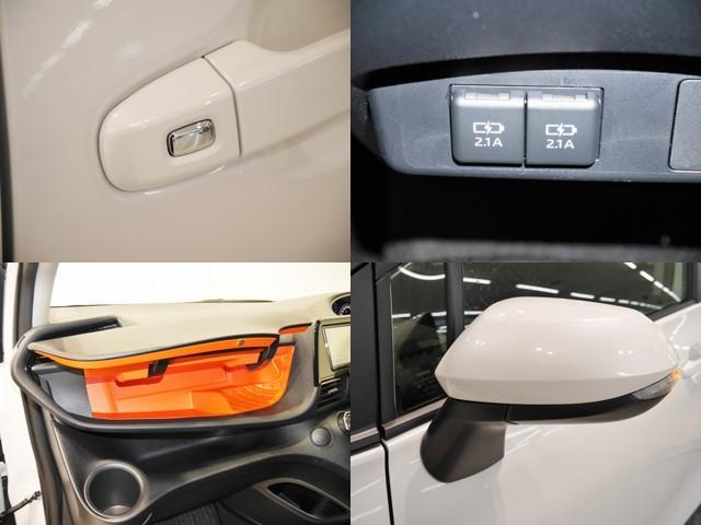 ワンタッチスイッチでドアの開閉が可能/充電用のUSB端子が2個ついてます/アッパーBOX/サイドターンランプ付きドアミラー