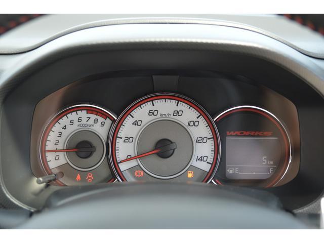 ベースグレード4WDターボ5速マニュアル車(17枚目)