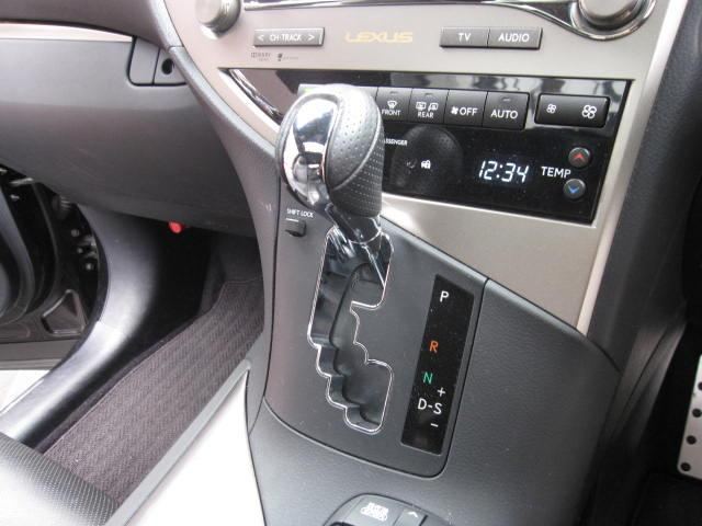 レクサス RX RX450h FスポーツHDDナビTV黒革サンルーフ