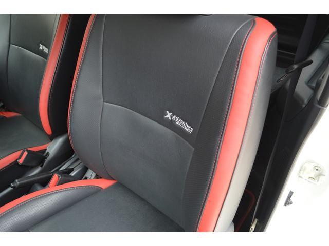 クロスアドベンチャー 特別仕様車4WDターボ5速マニュアル車ハーフレザーシートヒーターウインカーミラーヒーターCDキーレス(12枚目)