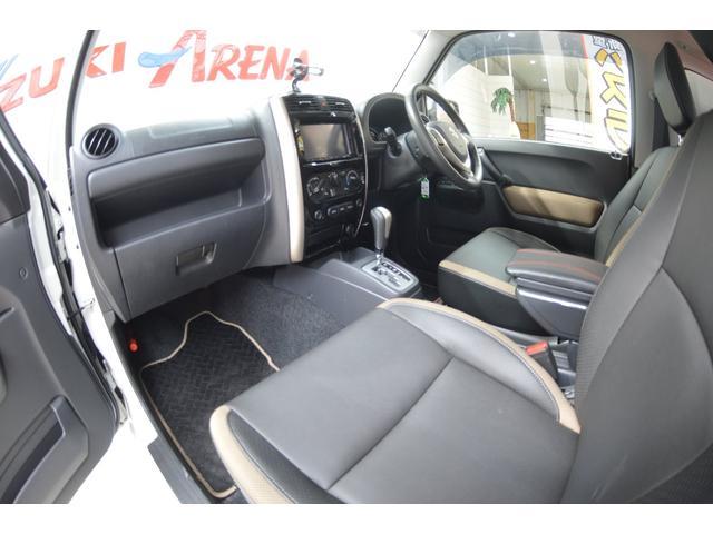 ランドベンチャー ワンオーナー特別仕様車4WDターボ社外HIDヘッドライトハーフレザーシートヒーター純正16インチアルミホイルウインカーミラーヒーター(14枚目)