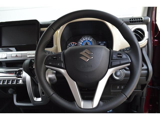 ハイブリッドMZ スターシルバーエディション4WDターボワンオーナー車セーフティパッケージデュアルセンサーブレーキ後退時ブレーキサポートLEDライトクルーズコントロール横滑り防止装置(19枚目)