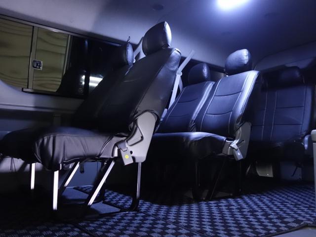 トヨタ ハイエースワゴン GL 本州仕入 フルエアロ 20AW HDD モニター7枚