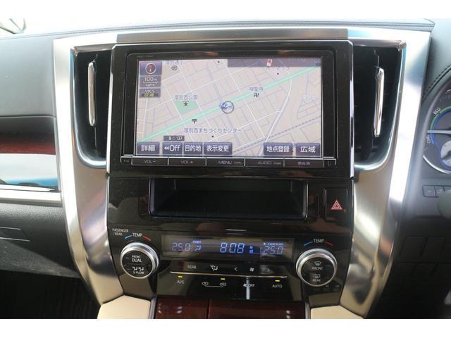 X 修復歴なし 本州仕入れ 両側パワースライド バックモニター ETC 4WD フルセグ地デジ付きナビ 社外アルミ! タイヤ20インチ!!(15枚目)