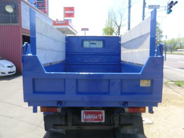 2tダンプ 高床 トラック ダンプ 本州仕入れ 荷台塗装済(8枚目)