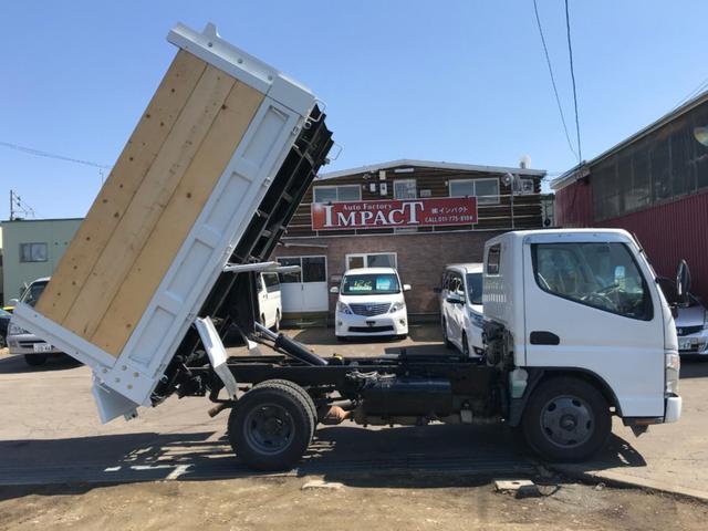 2tダンプ 高床 本州仕入れ 荷台塗装済み ライトレベライザ(5枚目)