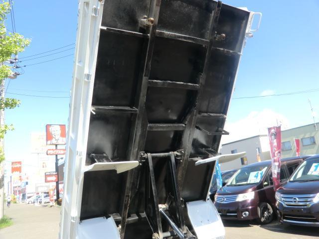 2tダンプ 高床 本州仕入れ 荷台塗装済み ライトレベライザ(9枚目)