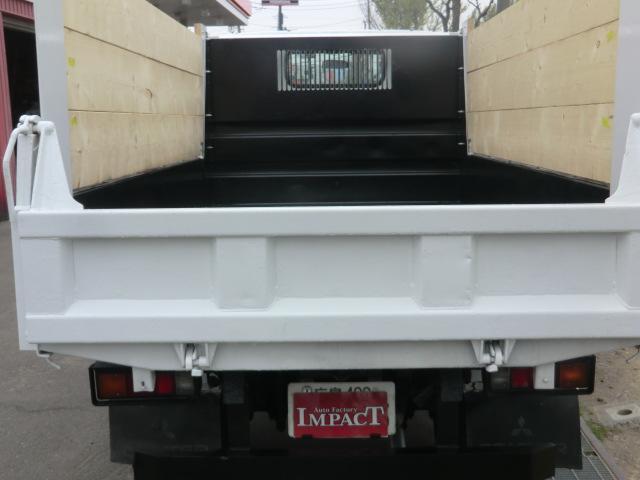 2tダンプ 高床 荷台塗装済み 夏冬タイヤホイール付き(7枚目)