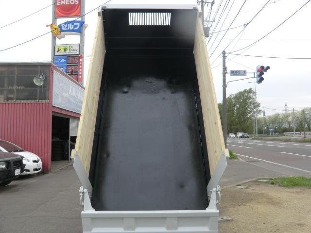 2tダンプ 高床 荷台塗装済み 夏冬タイヤホイール付き(10枚目)