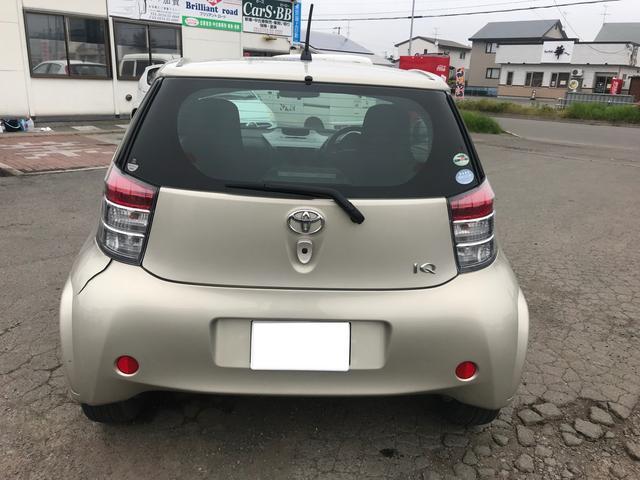 「トヨタ」「iQ」「コンパクトカー」「北海道」の中古車9