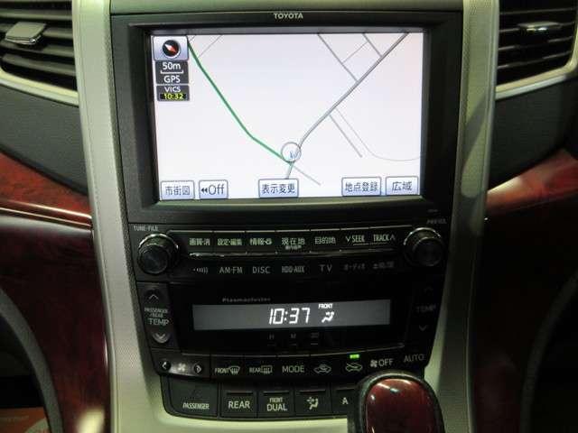 トヨタ ヴェルファイア 3.5Z 4WD 純正OPナビ 地デジ 片側Pスラドア