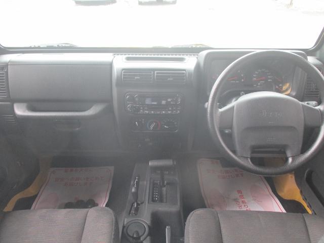 クライスラー・ジープ クライスラージープ ラングラー スポーツ4WD 4AT リフトアップ Mトンプソン BFG