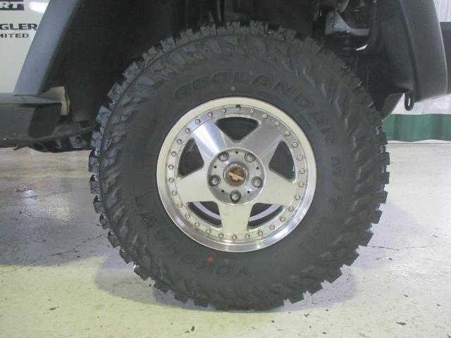 クライスラー・ジープ クライスラージープ ラングラーアンリミテッド スポーツ4WD ワンオーナー リフトアップ 新品MTタイヤ