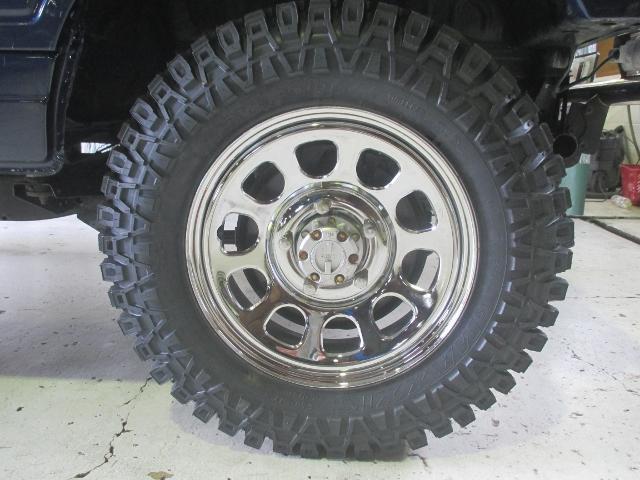 ランドベンチャー4WD リフトアップ 新品マキシスMTタイヤ(18枚目)