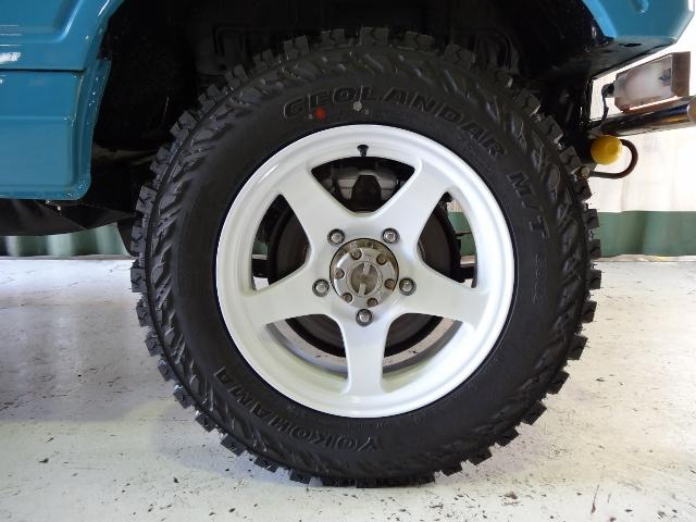 ワイルドウインドリミテッド4WD 新MTタイヤ 新ホイール(18枚目)