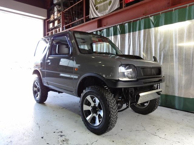 XG4WD 全塗装 リフトアップ 社外LEDテール(3枚目)