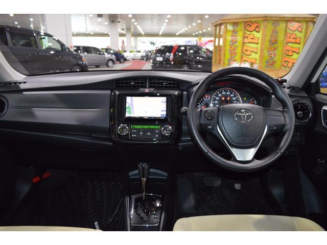 トヨタ カローラアクシオ 1.5G 4WD SDナビ ETC