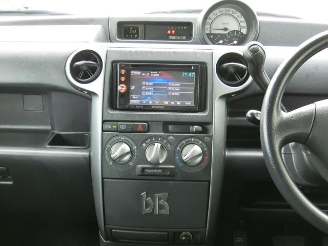 トヨタ bB S Wバージョン 純正エアロ・4WD・後期型・スターター