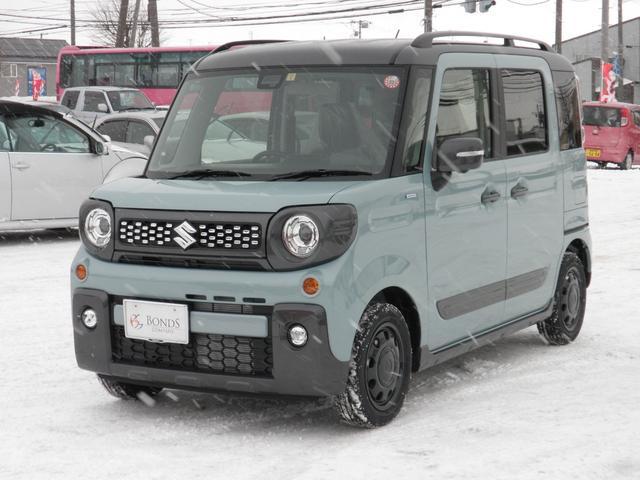 「スズキ」「スペーシアギア」「コンパクトカー」「北海道」の中古車7