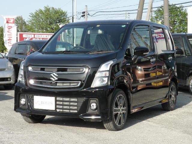 「スズキ」「ワゴンRスティングレー」「コンパクトカー」「北海道」の中古車37