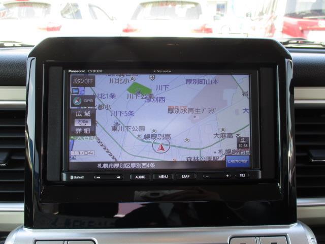 ハイブリッドMZ 4WD メモリーナビ ミュージックプレイヤー接続可 衝突被害軽減システム ETC ドラレコ LEDヘッドランプ アイドリングストップ(10枚目)