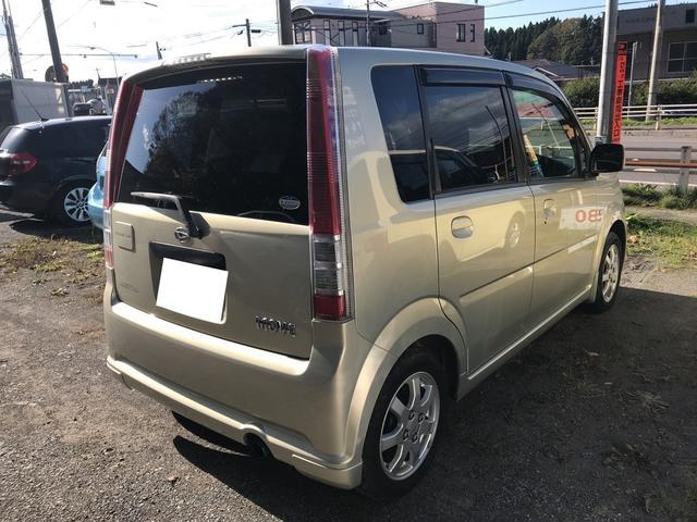 ダイハツ ムーヴ 4WD 軽自動車 ETC ゴールド  MT CD MD