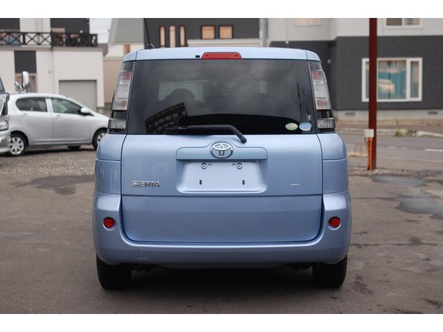 トヨタ シエンタ X 4WD ワンオーナー 寒冷地仕様