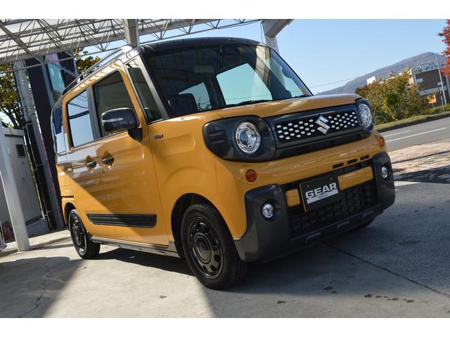 ハイブリッドXZ ターボ4WDスズキセーフティサポート搭載車(2枚目)