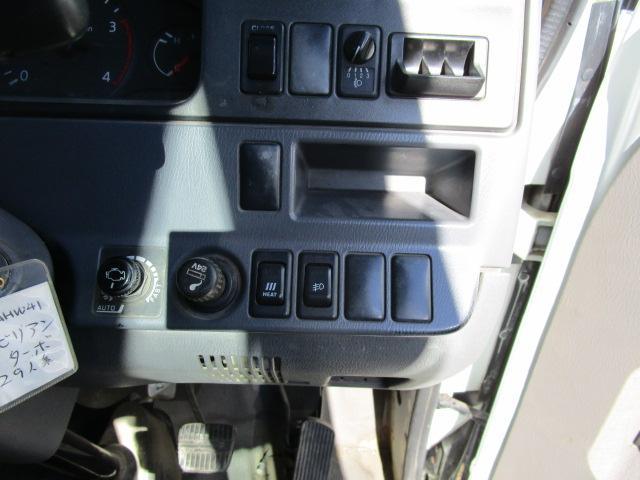 ロングSXターボ 29人乗り スイング自動ドア リヤヒーター2個(19枚目)