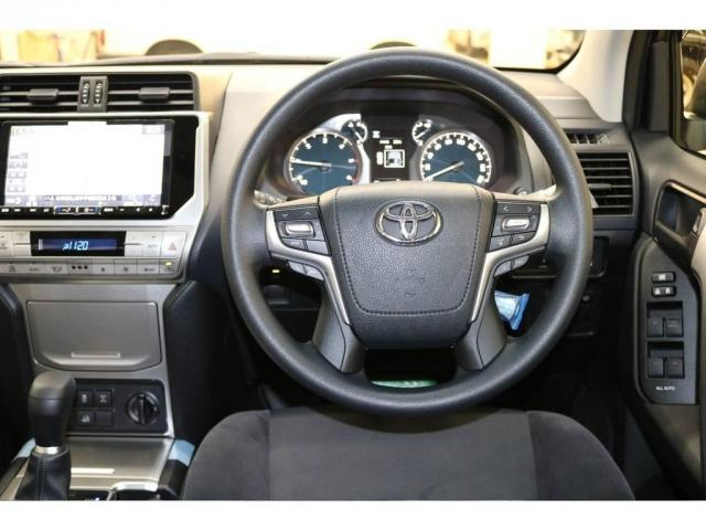 トヨタ ランドクルーザープラド 新車未登録車 新型クリーンディーゼルターボ BIGX9インチ