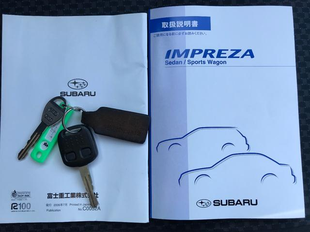 スバル インプレッサ 1.5i FF 夏冬タイヤ 一年保証