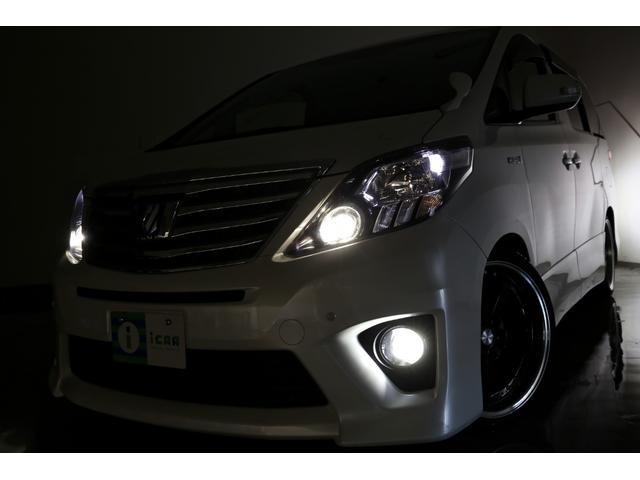SR HDDナビ 後席モニター新品サス 新品タイヤ/20AW(20枚目)