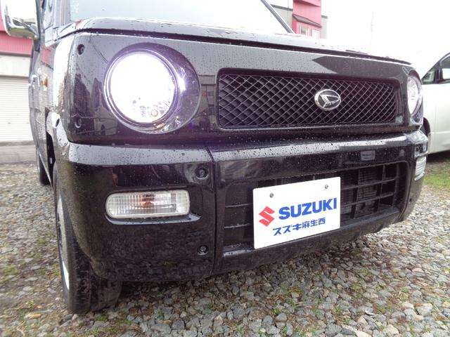 ターボG リミテッド 4WD ターボ 本州車 LEDヘッドライト ABS キーレス 14インチAW ドアバイザー メッキ電動格納ミラー Wエアバッグ(3枚目)