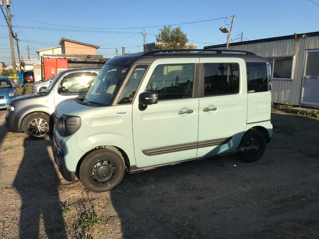 「スズキ」「スペーシアギア」「コンパクトカー」「北海道」の中古車3