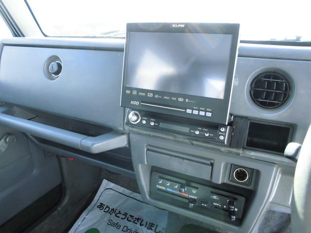 スズキ ジムニー XL 5MT リフトアップ HDDナビ オバフェン ワイトレ