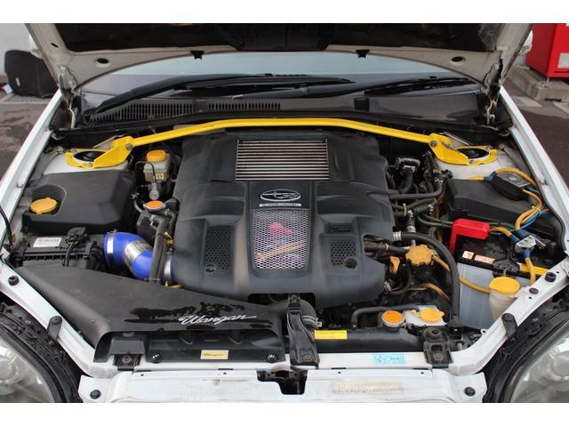 スバル レガシィツーリングワゴン 2.0GT 4WD 5MT フルエアロ