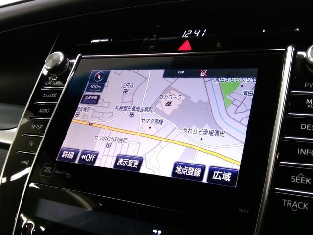 トヨタ ハリアー プレミアム 4WD サンルーフ メーカーSDナビ クルコン