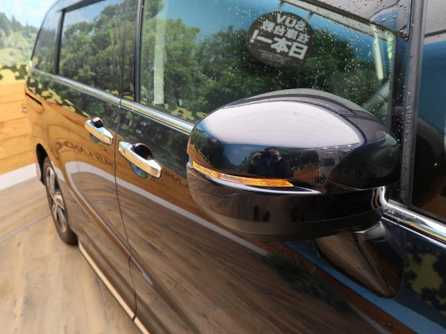 アブソルート 禁煙車 4WD メーカーナビ LEDヘッドライト クルーズコントロール バックカメラ フルセグTV ETC スマートキー アイドリングストップ 電動スライド 純正17インチAW 横滑り防止装置(24枚目)