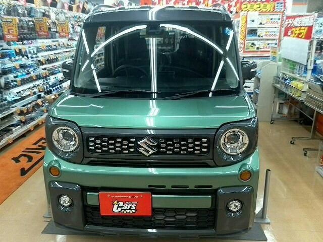 「スズキ」「スペーシアギア」「軽自動車」「北海道」の中古車4