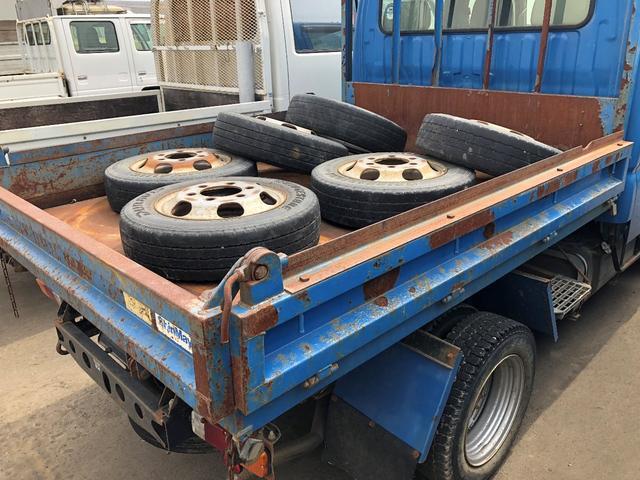 トヨタ ダイナトラック 1t Wキャブ 4WD ダンプ