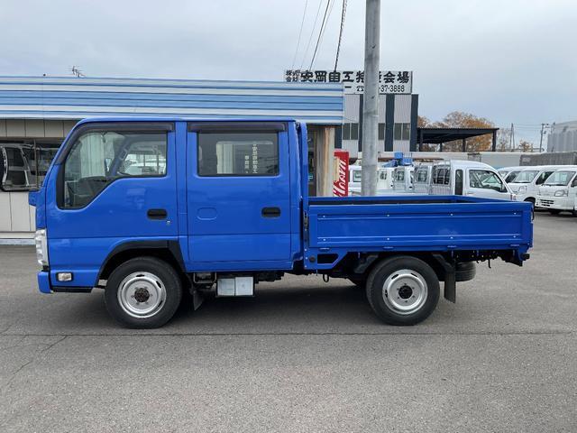 1.15t 4WD Wキャブ6人乗り 平ボデー(3枚目)