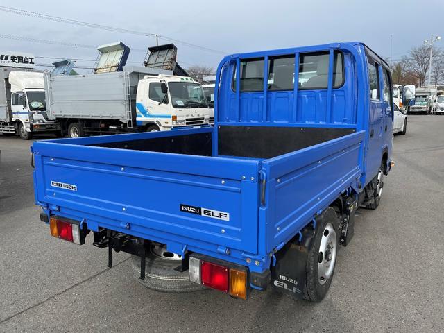 1.15t 4WD Wキャブ6人乗り 平ボデー(5枚目)